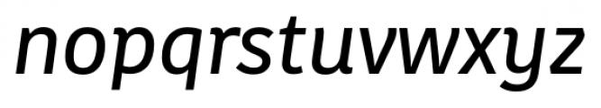 Kohinoor Latin Demi Italic Font LOWERCASE