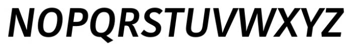 Kohinoor Latin Medium Italic Font UPPERCASE