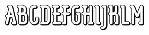 Koomerang Bondi Font UPPERCASE