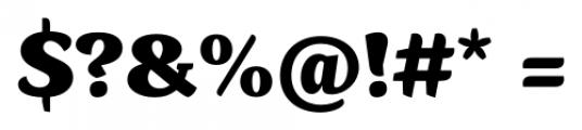 Kopius Black Font OTHER CHARS