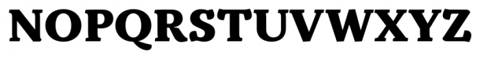 Kopius Extra Bold Font UPPERCASE