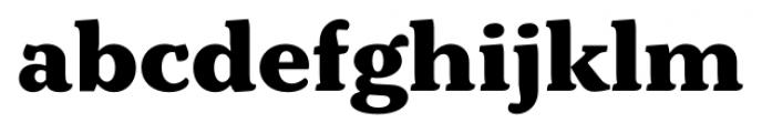 Kopius Extra Bold Font LOWERCASE