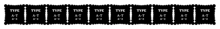 Kopius Extras Labels Font OTHER CHARS