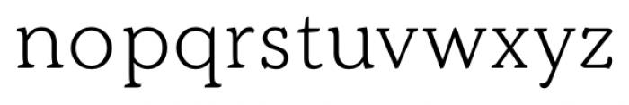 Kopius Light Font LOWERCASE