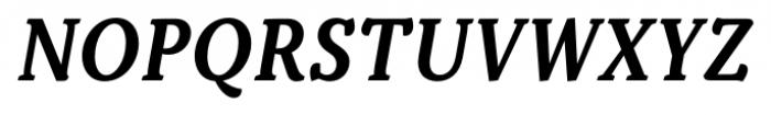 Kopius Semi Bold Italic Font UPPERCASE