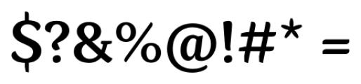 Kopius Semi Bold Font OTHER CHARS
