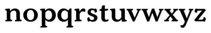 Kopius Semi Bold Font LOWERCASE