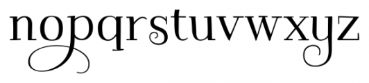 Kowalski2 A Font LOWERCASE