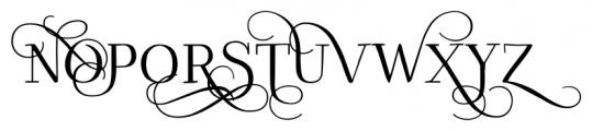 Kowalski2 B Font UPPERCASE