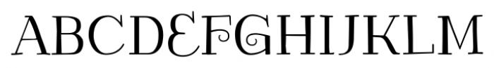 Kowalski2 C Font UPPERCASE