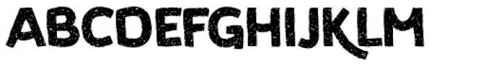 Koara Wild Free Bold Font UPPERCASE