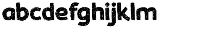 Koara Wild Free Bold Font LOWERCASE