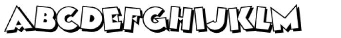 Kobalt Kartoon Font LOWERCASE