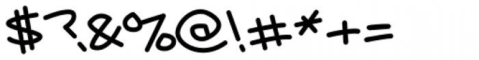 Kobely Light Font OTHER CHARS