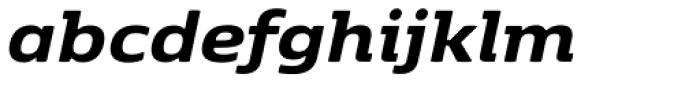 Kobenhavn Bold Italic Font LOWERCASE