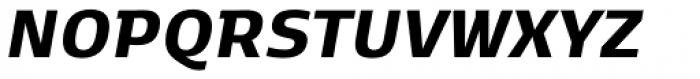Kobenhavn C Extra Bold Italic Font UPPERCASE