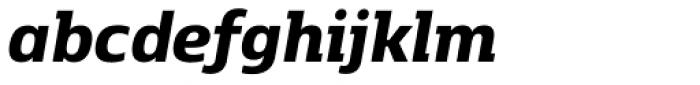 Kobenhavn C Extra Bold Italic Font LOWERCASE