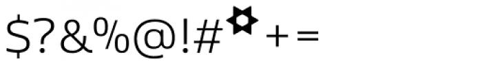 Kobenhavn Light Font OTHER CHARS