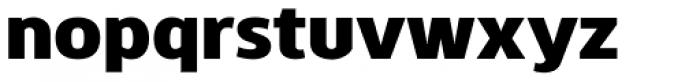 Kobern Heavy Font LOWERCASE