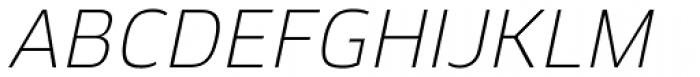 Kobern Light Italic Font UPPERCASE