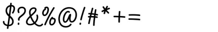 Kobold Script Bold Font OTHER CHARS