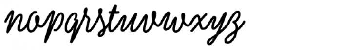 Kobold Script Bold Font LOWERCASE