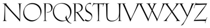Koch Antiqua Font UPPERCASE