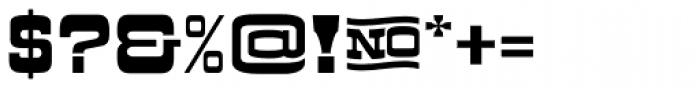 Kodiak Font OTHER CHARS