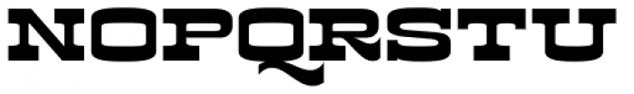 Kodiak Font UPPERCASE