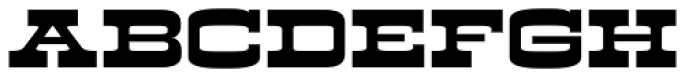 Kodiak Font LOWERCASE