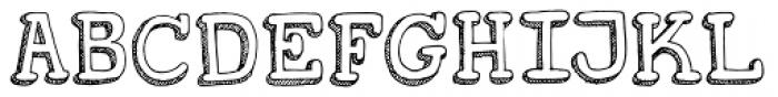 Koerier Font UPPERCASE