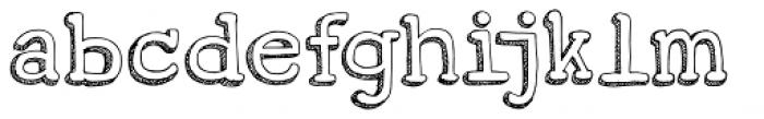 Koerier Font LOWERCASE