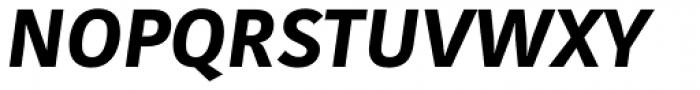Kohinoor Latin Bold Italic Font UPPERCASE
