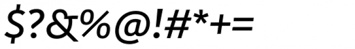 Kohinoor Latin Demi Italic Font OTHER CHARS