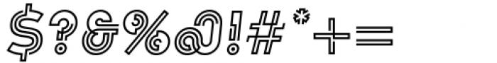 Koi Bold Oblique Font OTHER CHARS
