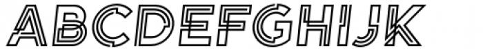 Koi Bold Oblique Font UPPERCASE