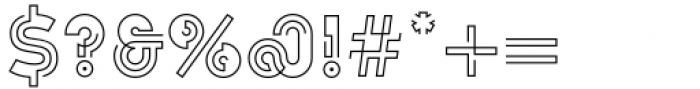 Koi Light Font OTHER CHARS