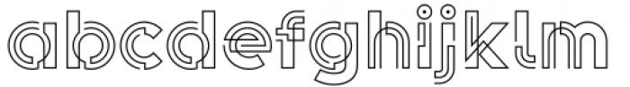 Koi Light Font LOWERCASE