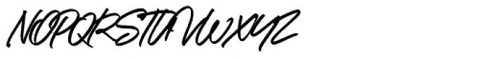 Kokomo Breeze Regular Font UPPERCASE