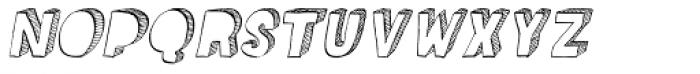 Kokomo Italic Font UPPERCASE