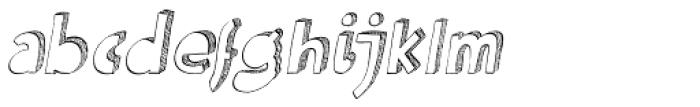 Kokomo Italic Font LOWERCASE