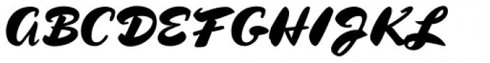 Kolinsky Sable Two SG Heavy Font UPPERCASE