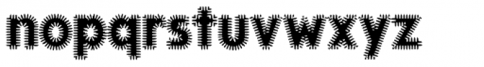 KolkFizzy Font LOWERCASE