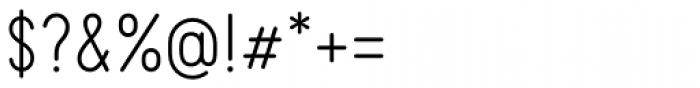 Kollar Sans Light Font OTHER CHARS