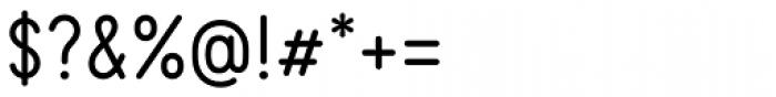 Kollar Sans Regular Font OTHER CHARS