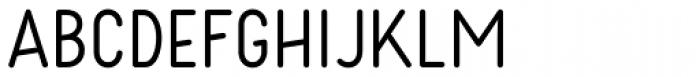Kollar Sans Regular Font UPPERCASE