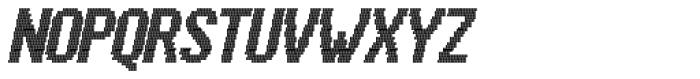 Kolly Dot100 Italic Font UPPERCASE