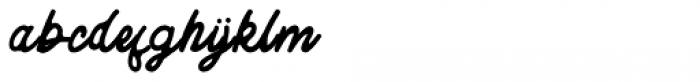 Komentator Regular Font LOWERCASE