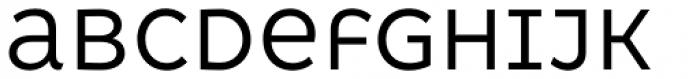 Kometa Unicase Regular Font LOWERCASE