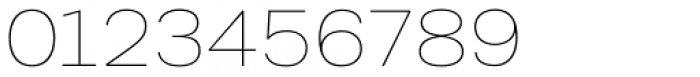 Kommon Grotesk Extended Thin Font OTHER CHARS